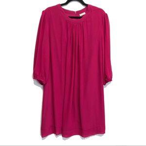 EVA MENDES | NWT FLOWY MAGENTA DRESS | XXL